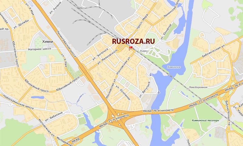 по Ленинградскому шоссе: